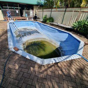 Vinyl liner pool repair Qld